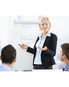 Succesvol presenteren & spreken voor groepen (online en praktijk)